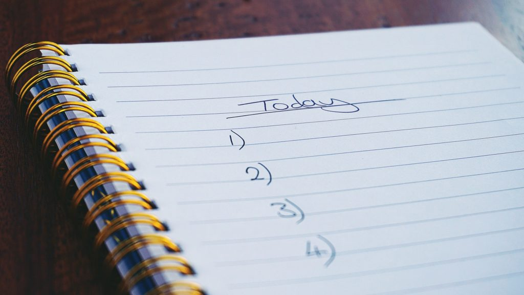 praca zdalna - dobre planowanie