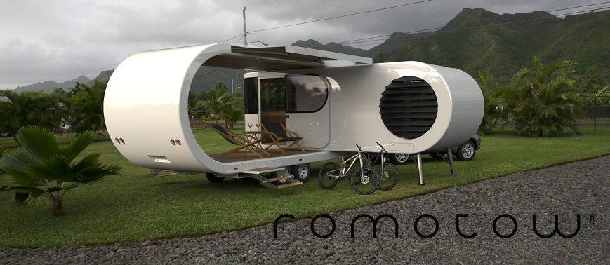 przyczepy campingowe - Romotow